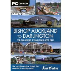 Bishop Auckland - Darlington - Add-On for Railworks 3 PC DVD