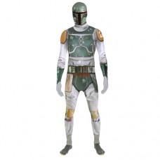 Star Wars Boba Fett Adult Unisex Zapper Cosplay Costume Digital Morphsuit - Large - Multi-Colour (MLZBFL-L)