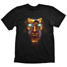 Borderlands Mens Handsome Jack Golden Mask T-Shirt S Black GE1808S