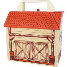 BoxSet Casdon Wood Play Barn - Kids Toys