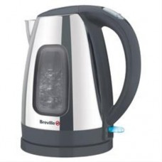 Breville Jug Kettle Polished Stainless Steel 1.5L - Black/Sliver (Model VKJ605)