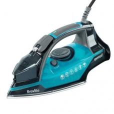 Breville Power Steam Iron Self Clean 2400W Comfort Fabric - Blue/Black (VIN349)