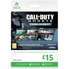 Microsoft Gift Card 15GBP Call of Duty Ghosts Branded Xbox One 360