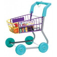Casdon Shopping Trolley - Food Little Shopper Pretend Role Play Kids Toy