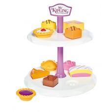 Casdon Mr Kipling Cake Stand Shape Sorter Little Double Tier Role Play Kids Toy