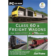 Class 60 and Freight Wagons - Add On for Rail Simulator  RailWorks and Railworks