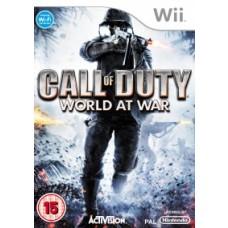 Call of Duty World at War Nintendo Wii