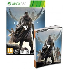 Destiny Xbox 360 Game + Official Strategy Guide Book Signature Series Bundle