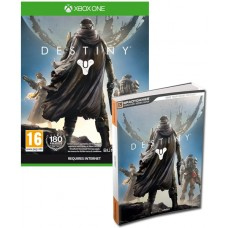 Destiny Xbox One Game + Official Strategy Guide Book Signature Series Bundle