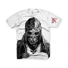 Dishonored Corvo: Bodyguard Assassin Medium T-Shirt White Model. GE1647M