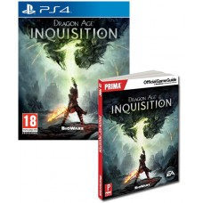 Dragon Age Inquisition PS4 Game + Prima Official Game Guide Book Bundle