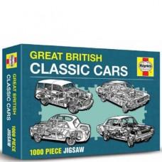 Great British Cars Haynes Edition - Jigsaw
