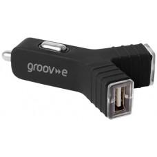 Groov-e 2400 mAh Dual USB Car Charger (GVCC2BK)