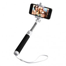 Groov-e Wireless Selfie Stick Self-Portrait Monopod + Remote Shutter Black (GVSS01BK)