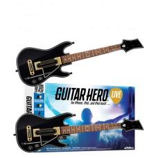 Guitar Hero Live Game + 2 Guitar Controllers Bundle GHL15 IOS