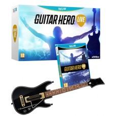 Guitar Hero Live with Guitar Controller Nintendo Wii U
