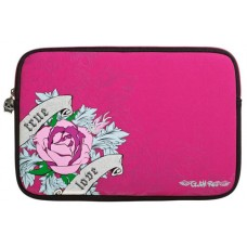 Glam Rox Rose 15.6 inch Laptop Sleeve Pink