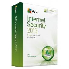 AVG Internet Security 2013 2 User 1 Year PC