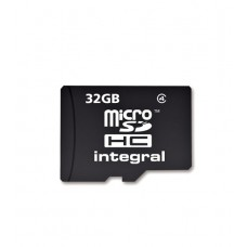 Integral 32GB Class 4 Micro SDHC Memory Card with Adapter (MICROSD32GB)