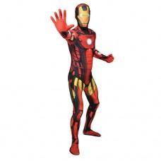 Marvel Comics Iron Man Adult Unisex Cosplay Costume Morphsuit - XX Large - Multi-Colour (MLIRM2-XXL)