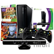 Xbox 360 4GB Console with Kinect Sensor and Megamind Bundle
