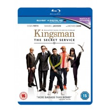 Kingsman The Secret Service Blu Ray