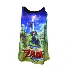 NINTENDO Legend of Zelda Skyward Sword Female Sublimation Tank Top Extra Large (TS230625NTN-XL)