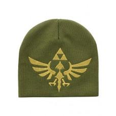 Nintendo Legend of Zelda Skyward Sword Golden Royal Crest Unisex Woven Beanie, One Size, Green (KC407916NTN)