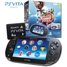 PS Vita Console with LittlebigPlanet digital download