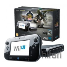 Nintendo Wii U Premium Pack 32gb Monster Hunter 3 Ultimate Black