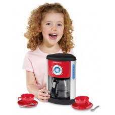 Casdon Morphy Richards Coffee Maker Machine Cups Saucers Spoons Role Play Toy