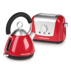 Casdon Morphy Richards Kettle and Toaster Set - Little Cook Role Play Kids Toy
