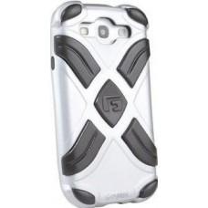 G-FORM Xtreme Samsung Galaxy S3 Case, Silver/Black RPT (EPHS00110BE)