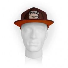 NINTENDO Super Mario Bros. Donkey Kong Brown Snapback Baseball Cap (SB201437NTN)