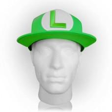 NINTENDO Super Mario Bros. Luigi Symbol Snapback Baseball Cap Green (SB061803NTN)