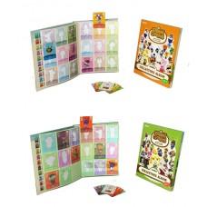 Animal Crossing Amiibo Cards Collectors Album Series 1 and 2 Bundle Nintendo 3DS