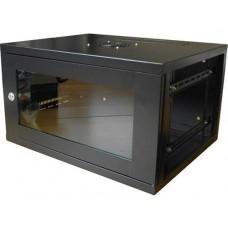 LMS DATA EcoNetCab W18U EL550 19-inch Deep Black Wall Mounting Network Cabinet, 550x550x840mm (CAB-W18U-EL550)