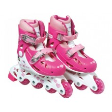 Hello Kitty Inline Roller Skates Set (30 - 33) (Bag, Skates, Protective Knee/Elbow/Pads) (OHKY18)