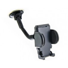 4WORLD Universal Car Mount for GSM/PDA/GPS for Windshield with Long Arm 37-103mm