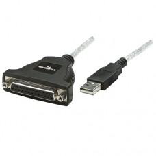 MANHATTAN USB to Parallel Converter, 1.8m (336581)