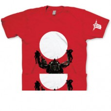 WOLFENSTEIN The New Order Trophy Extra Extra Large T-Shirt, Red (GE1650XXL)