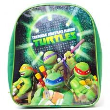TEENAGE MUTANT NINJA TURTLES (TMNT) Mini Backpack with The Pose Design, Green (BP300812TNT)
