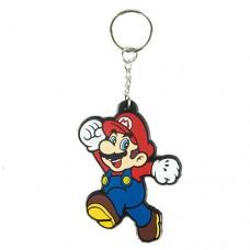 NINTENDO SUPER MARIO BROS. Mario Rubber Keychain (KE141768NTN)