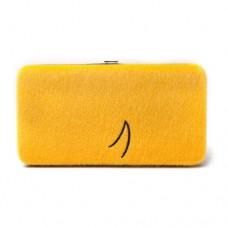 ADVENTURE TIME Jake Furry Big Face Girl Hinged Purse Wallet, Yellow (GW8960ADV)