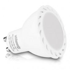 WHITENERGY LED Bulb  1x COB LED  MR16  GU10  7W 100-250V White Warm (09917)