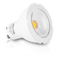 WHITENERGY LED Bulb  1x COB LED  MR16  GU10  8W 230V  White Warm (09823)