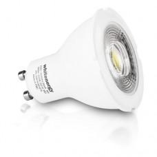 WHITENERGY LED Bulb  1x COB LED  MR16  GU10  8W 230V  White Warm (09819)