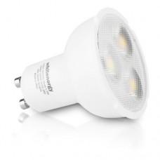 WHITENERGY Dimmable LED Bulb 6x SMD 3030 LED MR16 GU10 5.5W 230V White Warm (09568)