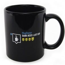 Payday 2 Bank Heist Last Cup Mug, Black (Model No. GE2178)
