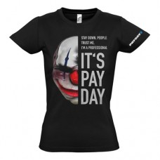 PAYDAY 2 Womens Chains Mask Extra Large T-Shirt Black (GE1737XL)